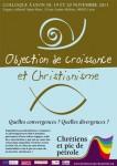 décroissance,crise,christianisme,catholiques,écologie