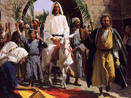 jésus-christ,dimanche des rameaux