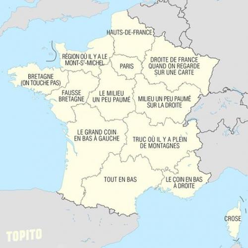 noms de régions