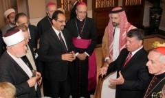 chrisianisme,catholicisme,islam,terre sainte,jordanie,vatiocan,benoit xvi