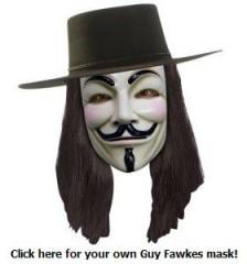 indignés,guy fawkes,v comme vendetta