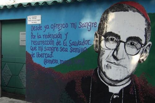 mgr romero,pape françois